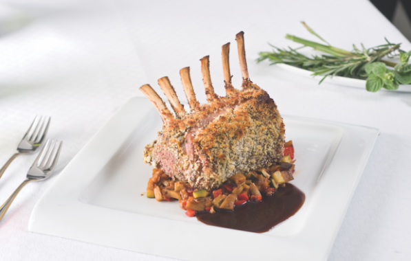 Crusted Rack of Lamb